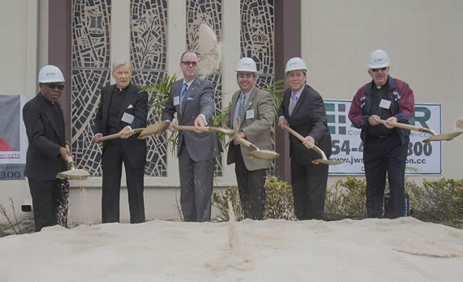 ground breaking ceremony